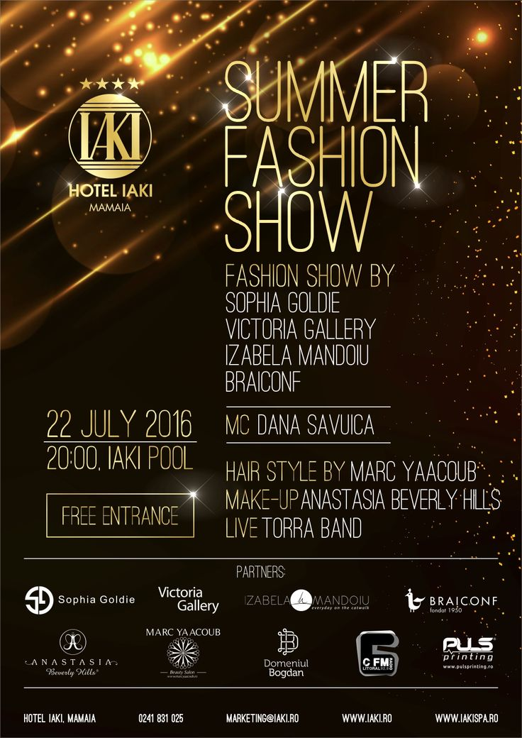 Happyness Motifs Collection presented at Iaki Hotel Fashion Show