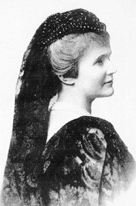 Pauline Elisabeth Ottilie Luise zu Wied ( Neuwied, 29 December 1843 - Curtea de Argeş or Bucharest, 3 March/2 November 1916) was the Queen Consort of King Carol I of Romania, known by her literary name of Carmen Sylva. In the Russo-Turkish War she devoted herself to the care of the wounded, and founded the Order of Elizabeth to reward distinguished service in such work. She fostered the higher education of women in Romania, and established societies for various charitable objects.