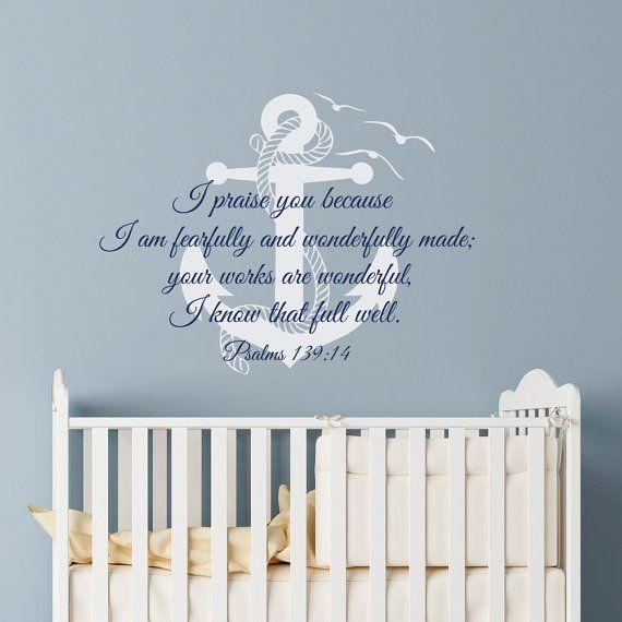 Best Bible Verse Scripture Wall Decals Images On Pinterest - Bible verse nursery wall decals