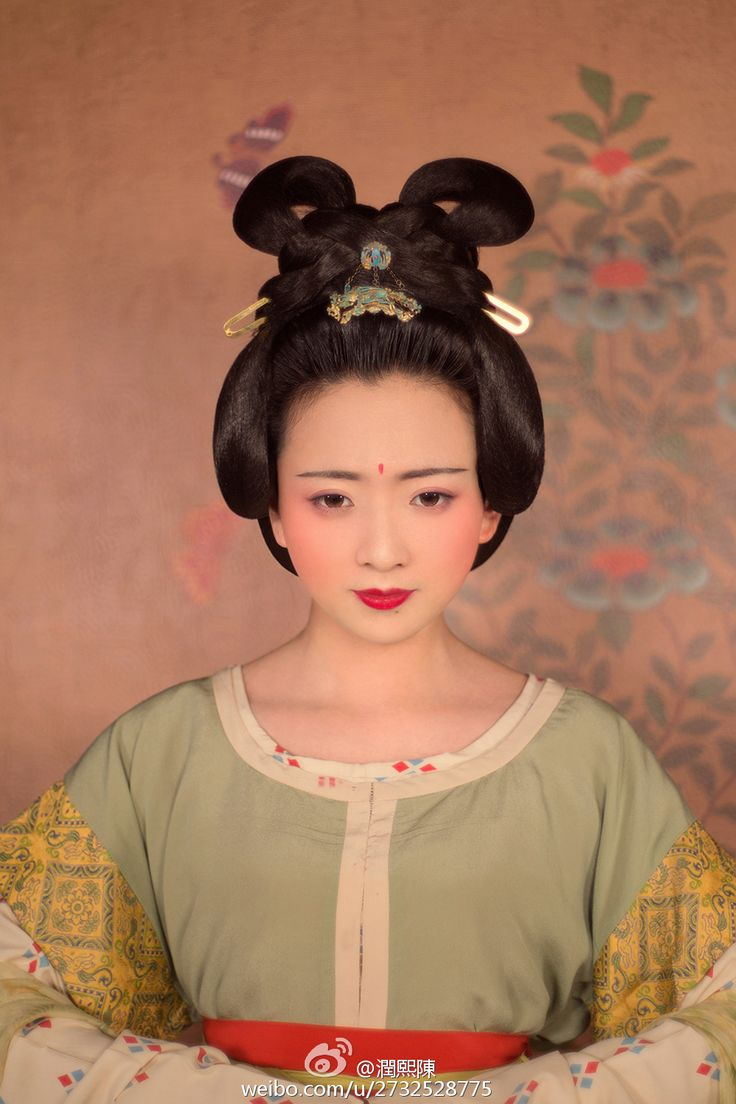 chinese hairstyle - 736×1051