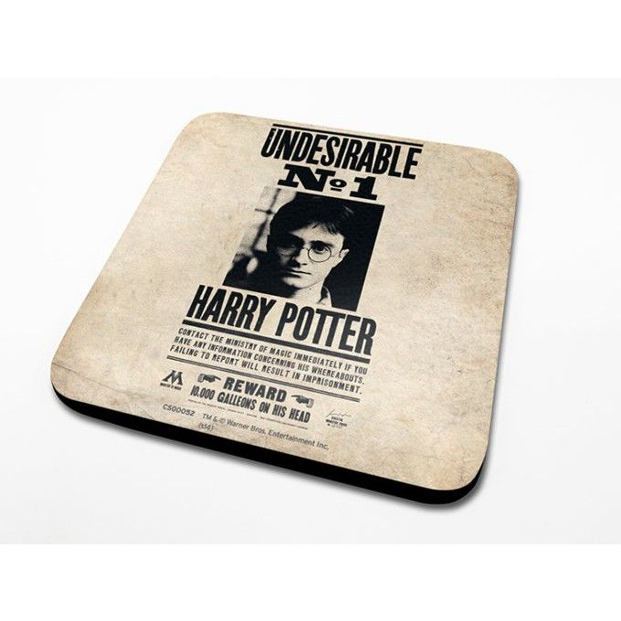 Sous-Verre Undesirable 10 x 10cm Harry Potter