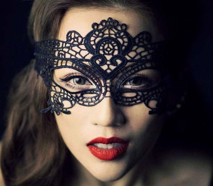 Sexy Lady Laço Oco Flor Máscara De Mulher Máscaras Para Os Olhos Black White Party Bola Mascarada De Princesa A Rainha Do Vestido De Fantasia Da Bola Traje Máscaras D2319