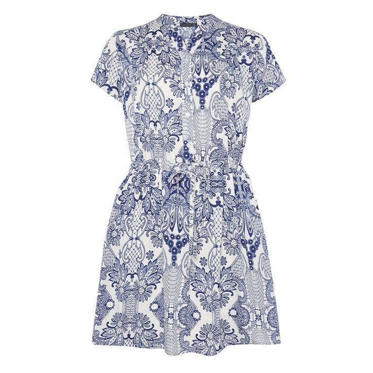 http://m.primark.com/en/whats-new/product/29410,blue--white-paisley-shirt-dress
