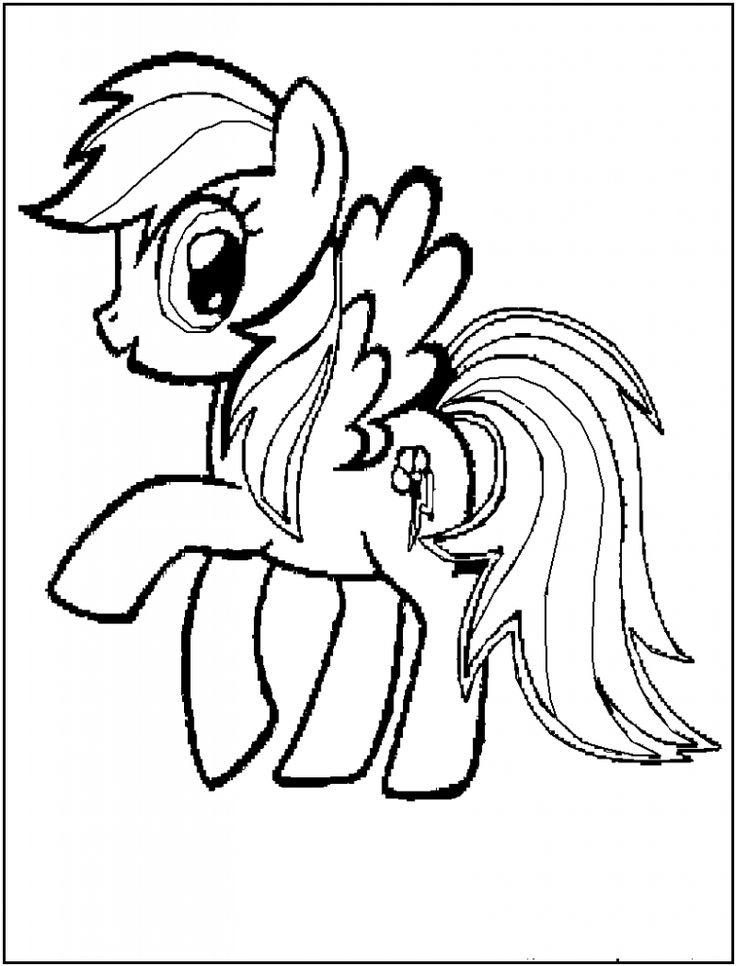 14 best Rainbow Horse images on Pinterest Coloring sheets Adult