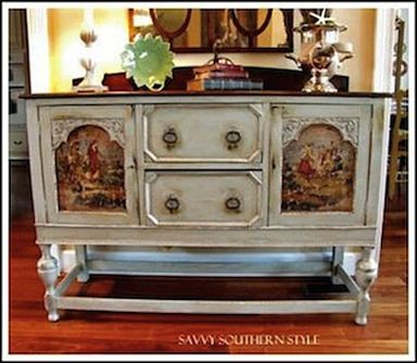 DIY::French Country Cottage Furniture-  Transform Your Furniture! Easy! (This is an excellent tutorial plus tons of decor ideas) !