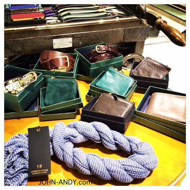 #accessories #for #men #newarrivals #johnandy #wallet #belts #scarf #scotchandsoda @konstantinos_apostolopoulos @maria_skordou #00302109703888