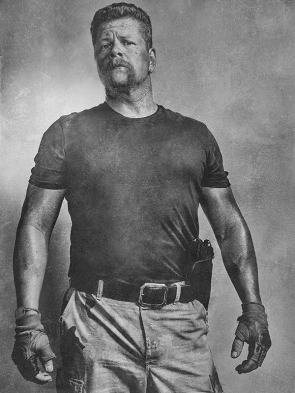 The Walking Dead 6ª Temporada: 'Silver Portraits' dos Personagens