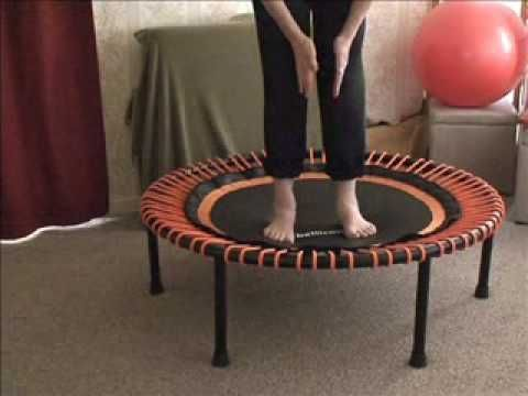 All about Pronating - How to stand on a Rebounder. (+playlist)
