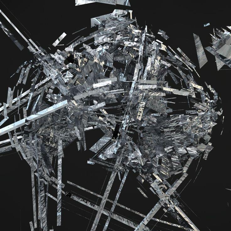 "Day 20: ""Nanobitch"" by Drasko V #create #daily #art #cinema4d #design #experimental #scifi #alien #dark #universe"