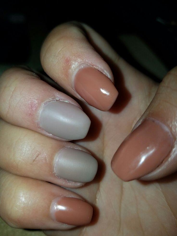 neutral gel nails