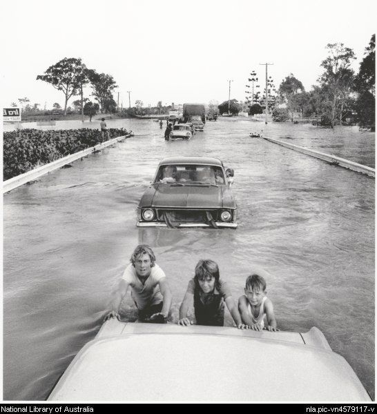 Brisbane floods, Queensland, January 1974,