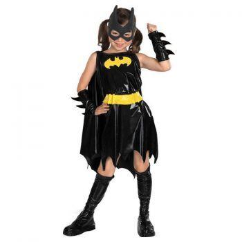 Batgirl Çocuk Kostüm Lüks 5-7 Yaş