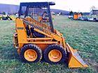 CASE 1816B SKID STEER  LOADER RUBBER TIRES SNOW PLOW BOB CAT TRACTOR LOADER