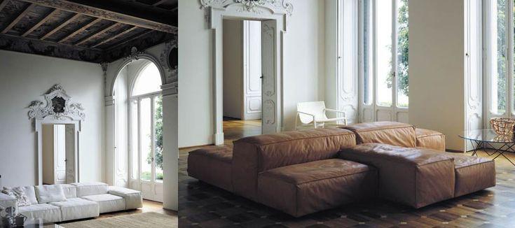 Living Divani Extrasoft sofa #livingdivani #extrasoft #pierolissoni #sofa