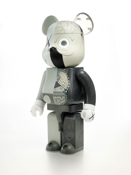 Kaws Dissected #bearbrick 400%