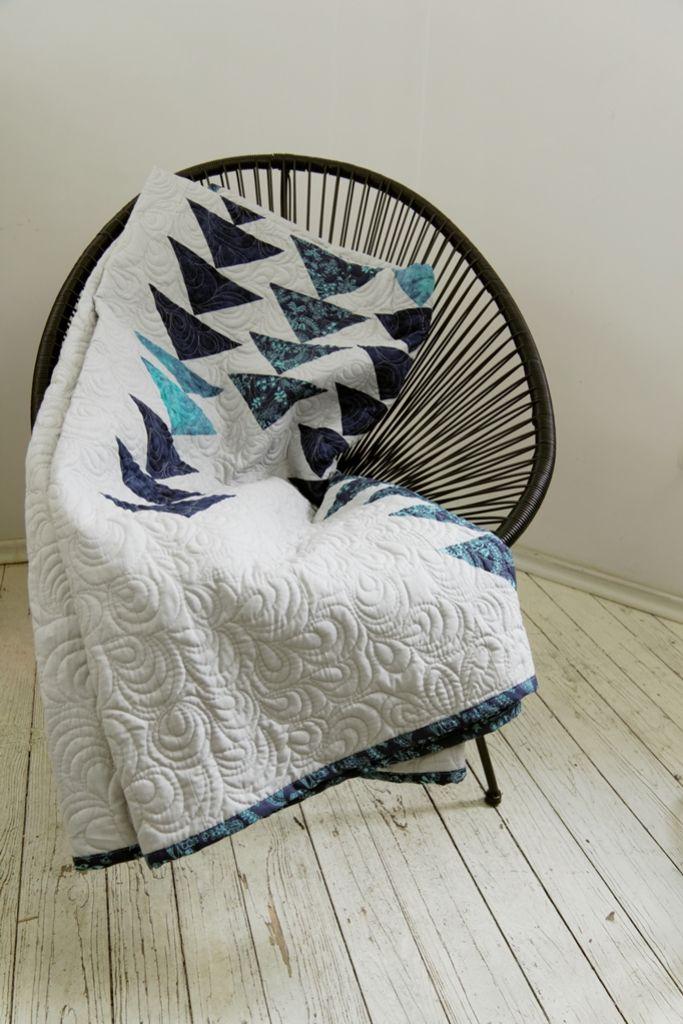 Narzuta patchwork cube, narzuta w stylu skandynawskim, patchwork nowoczesny - dom artystyczny wystrój wnętrz tkaniny dekoracyjne, patchwork