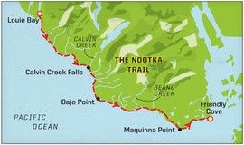 Nootka Trail, Canada