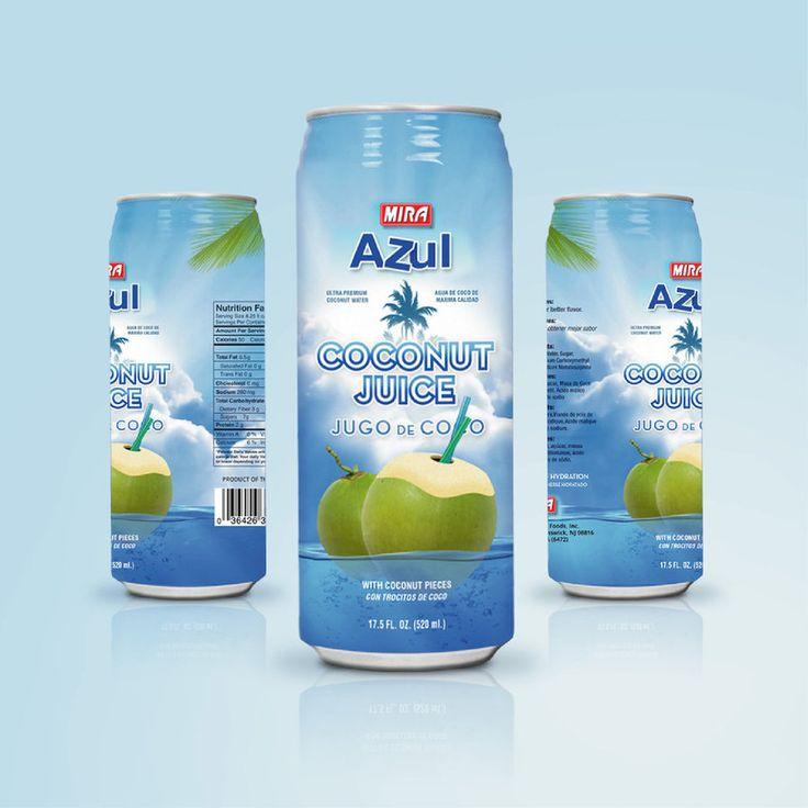 Coconut Water | Label Design by attilakamasz