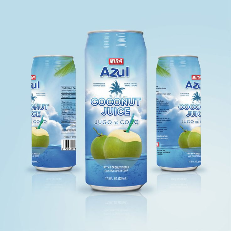 Coconut Water | Label Design by attilakamasz