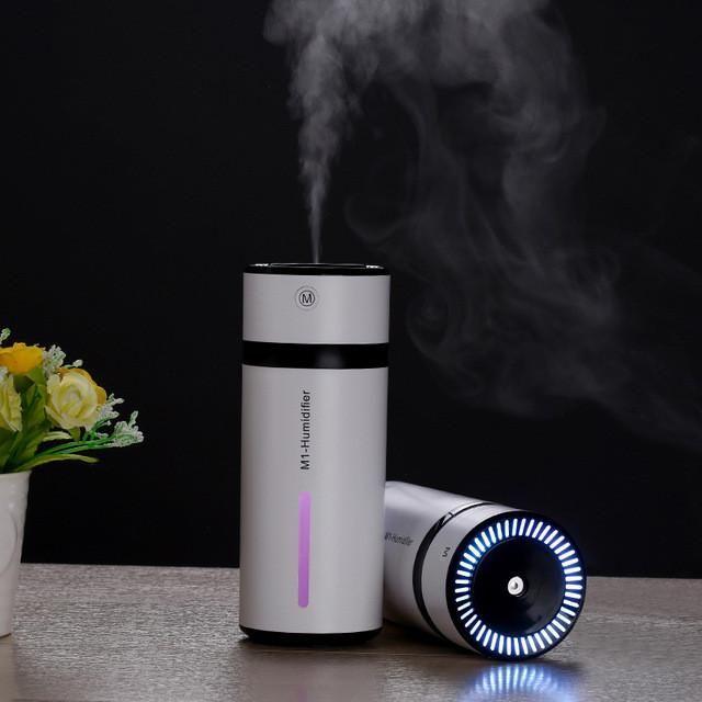 230ml Ultrasonic Air Humidifier USB Mini Aroma Diffuser