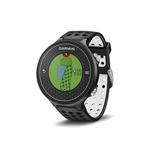 Garmin Approach S6 Montre GPS Noir: La première montre GPS de golf à afficher vos cartes de parcours et à analyser votre swing. Ecran…
