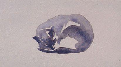 Sonja Dwinger Slapende kat