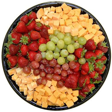 Daily Chef Fruit Amp Cheese Party Tray In 2019 Cheese