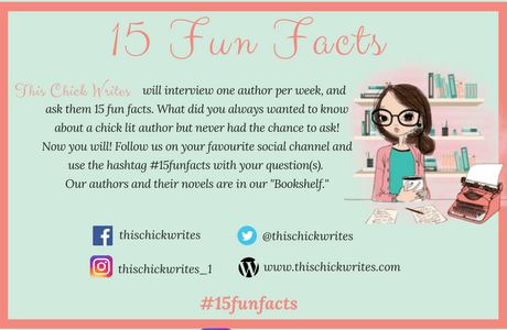 #15FunFacts is coming soon! What would you like to ask your favourite chick lit writer, but never had the chance to ask? #thischickwrites #chicklit