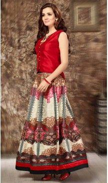Silk Lehenga Style Readymade Party Wear Dress in Red Color | FH523079254 #heenastyle , #salwar , #kameez , #suits , #anarkali , #party, #wear , #panjabi , #patiyala , #abaya , #style , #indian , #fashion , #designer , #bridel , #evening , #formal , #office , #deaily , #dupatta , #churidar , #palazo , #plazzo , #nerrow , #pant , #dress , #dresses , #fashion , #boutique , #mode , #henna , @heenastyle , #latest , #gowns , #pakistani , #readymade , #stitched , #plus , #size , #islamic