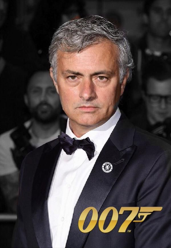 New James Bond Jose Mourinho: From Portugal with Love...