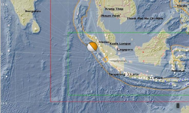 Gempa 6,5 SR Guncang Pesisir Selatan Sumatera Barat