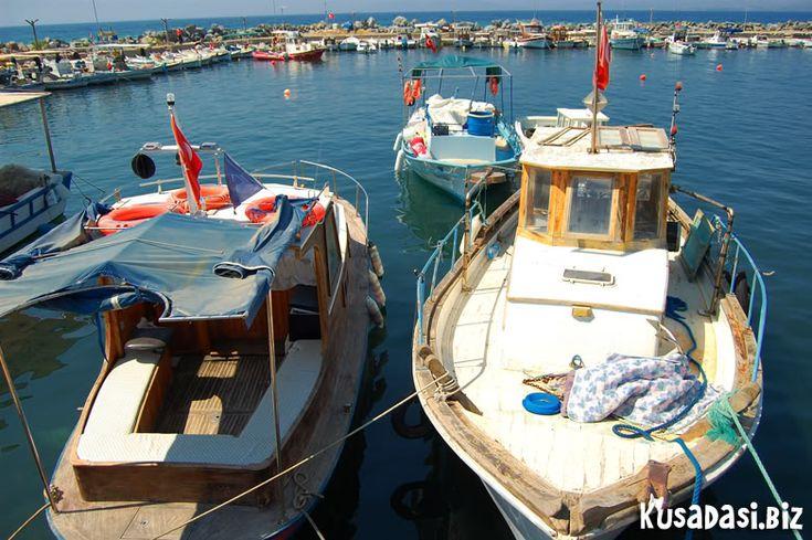 Fishing boats, Guzelcamli.