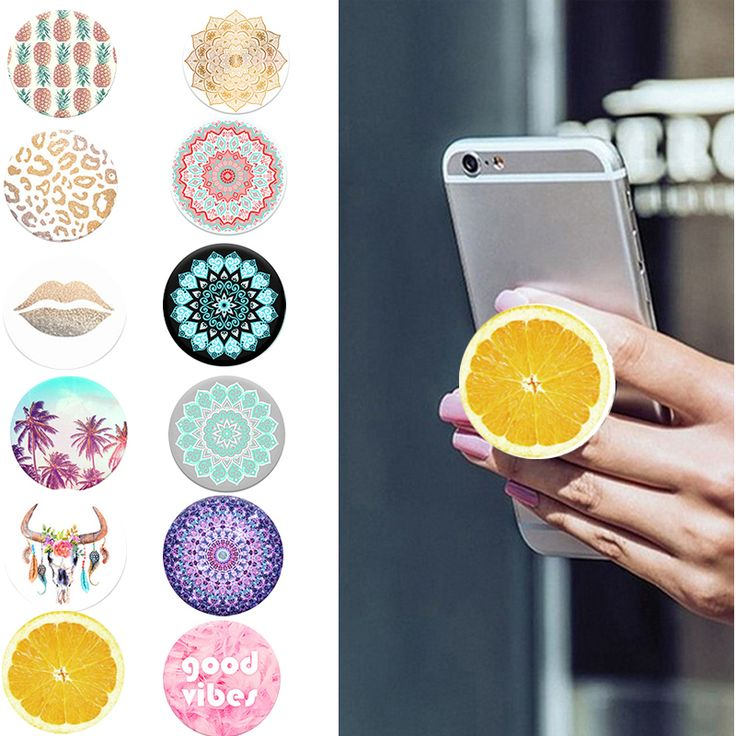Fashion Phone Holder Pop Expanding Stand And Grip Socket
