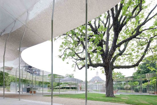 Serpentine Gallery Pavilion 2009 by SANAA