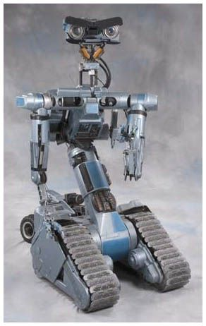 """Johnny 5!!!! If you've never seen """"Short Circuit"""" then you aren't a human. :)"""