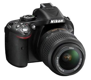 Nikon D5200 Kit Kamera DSLR [18-55mm VR II] | specification