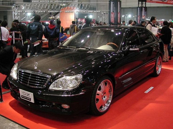 mercedes benz s class w220 tuning 7 cars that caught. Black Bedroom Furniture Sets. Home Design Ideas