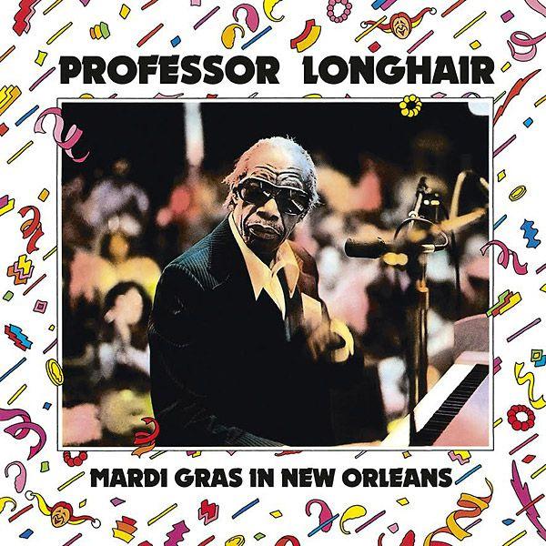 PROFESSOR LONGHAIR: Mardi Gras In New Orleans LP Closeup