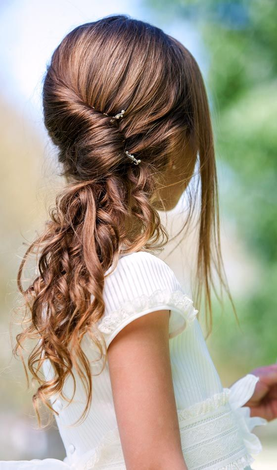 10 Cute Hairstyles For Cute Little Girls