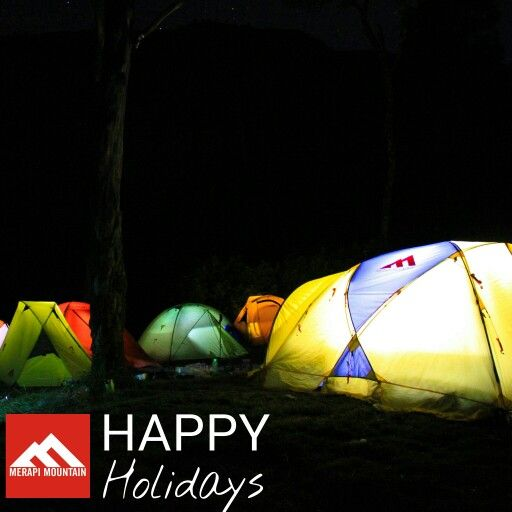 Happy holidays from Meraoi Mountain, the tent maker.