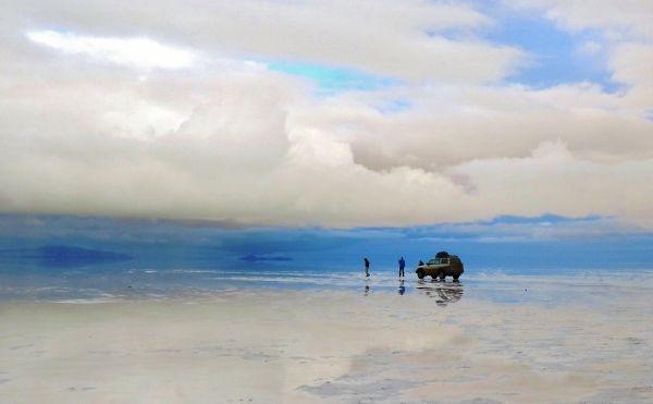 Bolivian Salt Flats.