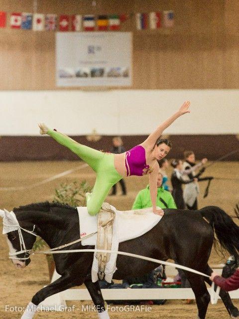 Sandra Krassnitzer holte für den UVT Eligius einen hervorragenden zweiten Platz im Einzel M. © Michael Graf