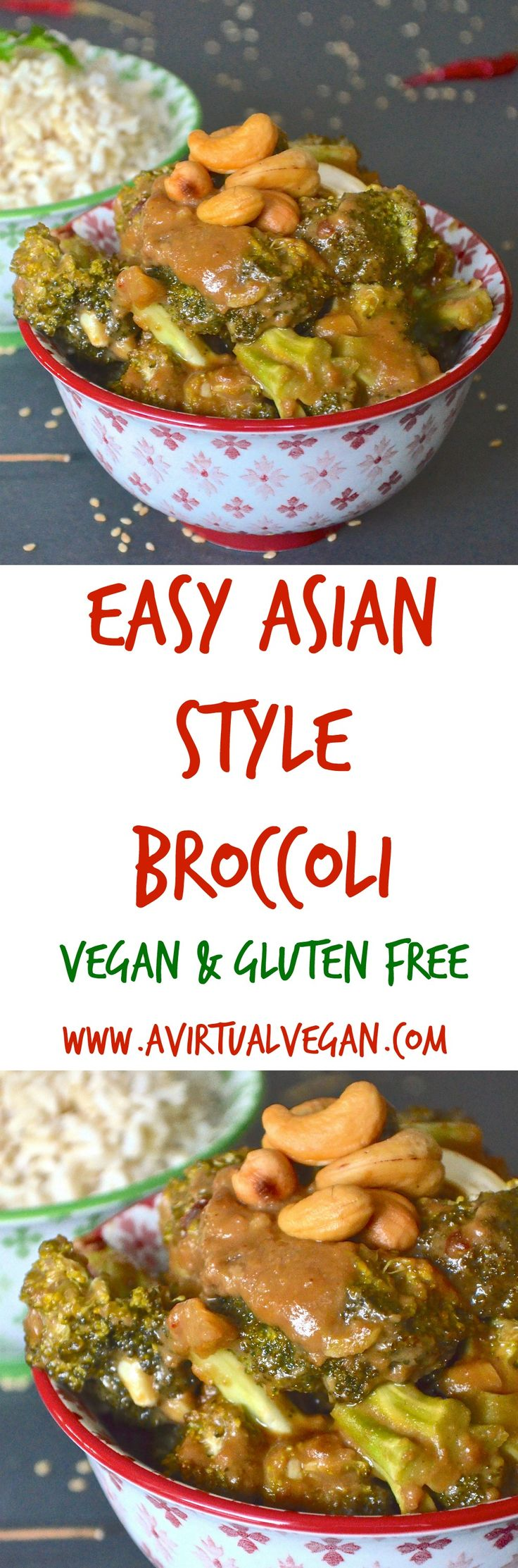 Tender broccoli smothered in a rich, thick Asian style sauce. Insanely simple to make, ready in less than 30 minutes and full of flavour.