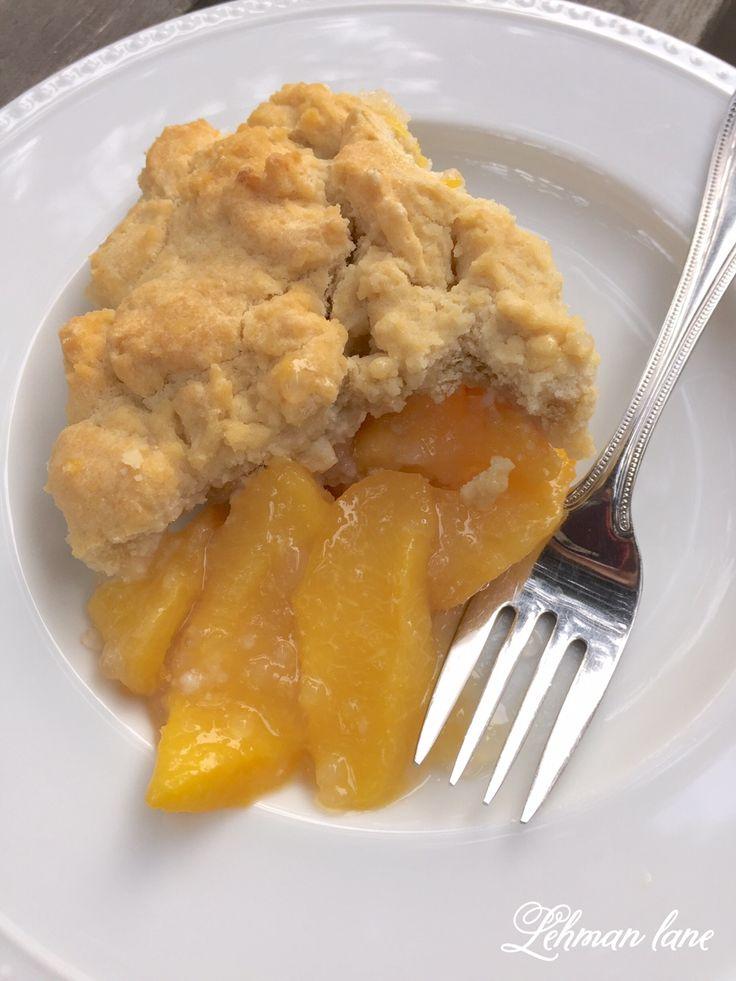 Simple Peach Cobbler Recipe