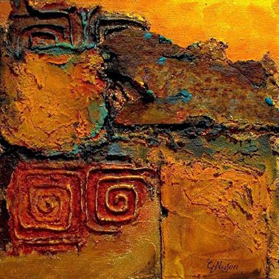 """Carol Nelson Workshop """"Experiments in Mixed Media"""" February 1st and 2nd- Denver, Colorado--Reserve NOW!!"""