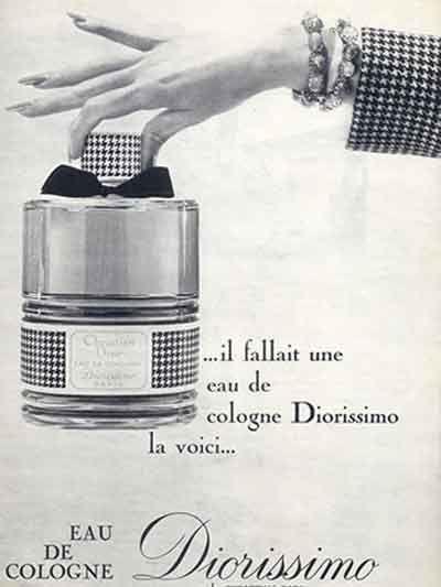 Parfum Dior Pied de poule