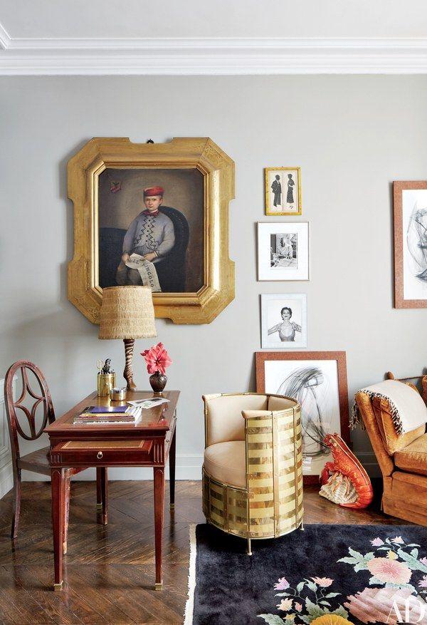 Fashion Designer Stefano Pilatis 19th Century Apartment In Paris