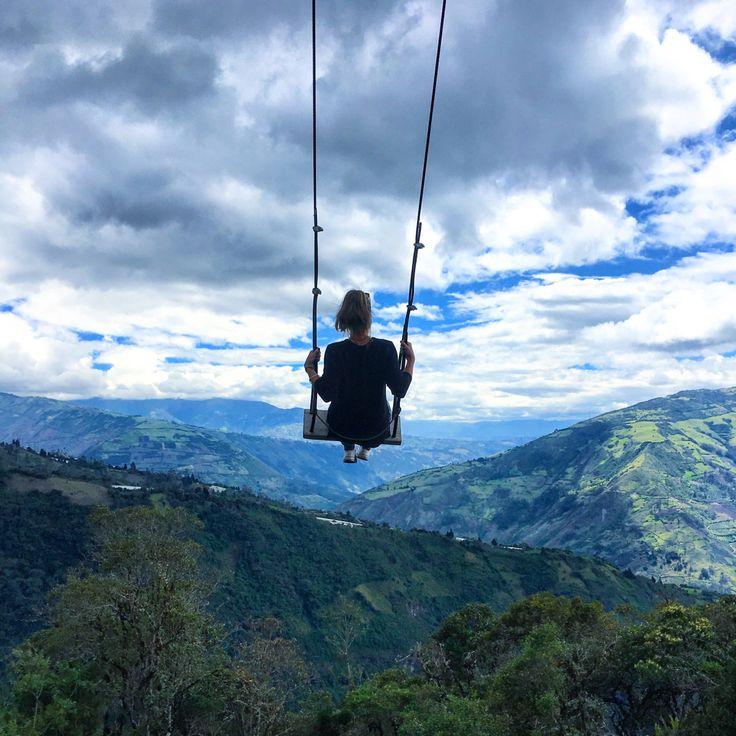 La Casa del Arbol, The Swing, Banos, Ecuador