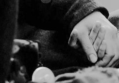 """""""Have you ever really held the hand of someone you love? Not just in passing, a loose link between you - but truly clasped, with the pulses of your wrists beating together and your fingers mapping the knuckles and nails like a cartographer learning a country by heart?""""   http://outlander-online.tumblr.com/post/98963058390/photoset_iframe/outlander-online/tumblr_ncoev4WsuK1rh9ucd/500/false"""