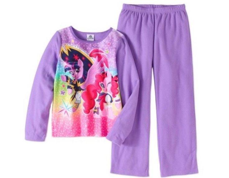My Little PONY Purple Pajamas Girl's 7/8 NeW L/S Shirt & Pants 2 Piece Pjs Set #MyLittlePony #MyLittlePonyPajamas #MyLittlePonyPjs